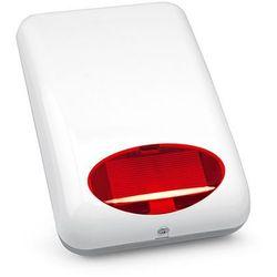 SPL-5010 R Satel Sygnalizator zewnętrzny akustyczno-optyczny dioda czerwona
