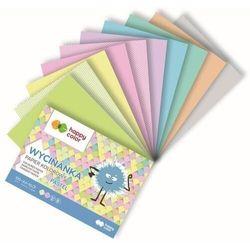 Blok wycinanka pastel a5/10k 100g happy color