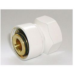 Złączka zaciskowa do rury stalowej GW M22x1,5 x GW 1/2 Schlosser 6027 00002.06 Biała