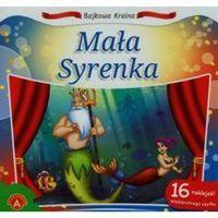 Książki dla dzieci, Bajkowa kraina Mała Syrenka (opr. miękka)