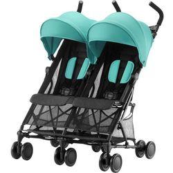Britax Römer wózek dla rodzeństwa Holiday Double, Aqua Green - BEZPŁATNY ODBIÓR: WROCŁAW!