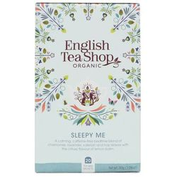 Herbatka ziołowa Sleepy Me 20x1,5 g BIO 30 g English Tea Shop