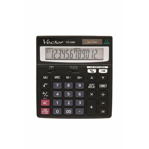 Kalkulatory, Kalkulator Vector CD-2460 - WEJDŹ I ODBIERZ RABAT - Autoryzowana dystrybucja - Szybka i tania dostawa - Hurt - Wyceny