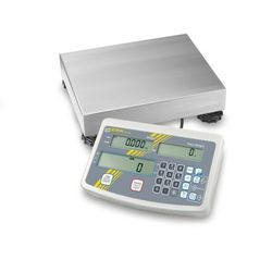 Przemysłowa waga do zliczania sztuk KERN IFS 30 i 60 kg [d] 0,5 i 1 g płytka wagi [mm] 400 x 300