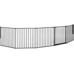 BabyDan barierka ochronna New Flex XXL, 90-350 cm, czarna