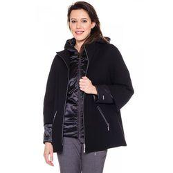 Dwuwarstwowa kurtka w kolorze czarnym - Vito Vergelis