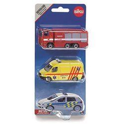 Zestaw pojazdów ratunkowych