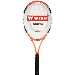 Rakieta do tenisa ziemnego WISH Funsiontec 530 Pomarańczowo-czarny