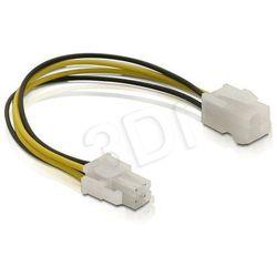 Delock Kabel P4 zasilający CPU M/F wewnętrzny 15cm