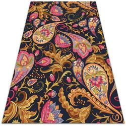 Modny uniwersalny dywan winylowy Modny uniwersalny dywan winylowy Kolorowy Paisley