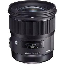 Sigma 24mm f/1,4 DG HSM Art - Nikon - przyjmujemy używany sprzęt w rozliczeniu | RATY 20 x 0%