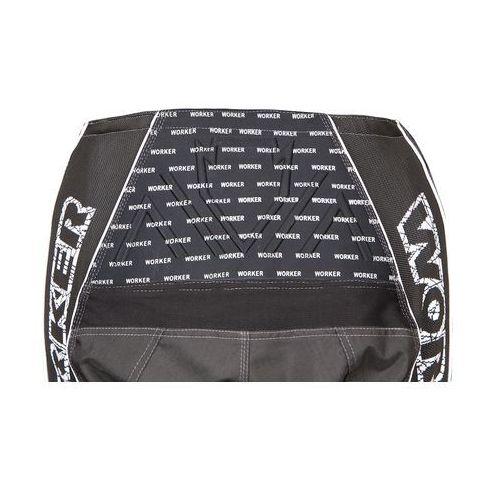Pozostała odzież motocyklowa, Spodnie Motocross WORKER Razzor Junior, Czarny, Junior XL (11 - 12 lat)