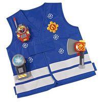 Lalki dla dzieci, Simba strażak sam kamizelka strażacka z akcesoriami + latarka