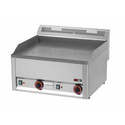 Płyta grillowa elektryczna trójfazowa gładka | 650x480mm | 6000W | 660x600x(H)290mm