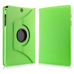 Zielone etui skórzane PU Stand Cover Galaxy Tab A 9.7 T550 - Zielony