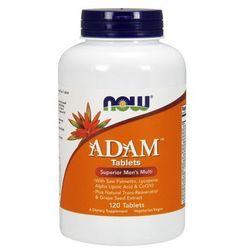 Now Foods ADAM witaminy dla mężczyzn 120 tabl.