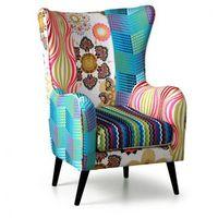 Fotele i krzesła biurowe, Fotel Patchwork - uszak