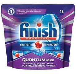Tabletki do zmywarek Finish Quantum Max 279 g (18 sztuk)