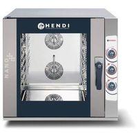 Piece i płyty grzejne gastronomiczne, Hendi Piec konwekcyjno-parowy | 5x GN1/1 | elektryczny | sterowanie manualne - kod Product ID