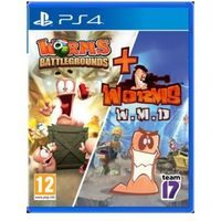 Gry na PlayStation 4, Gra PS4 Worms Battlegrounds ENG Darmowy odbiór w 19 miastach!