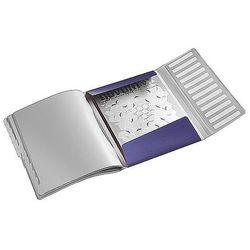 Teczka segregująca Leitz Style 12 przegródek 200 kartek tytanowy błękit 39960069