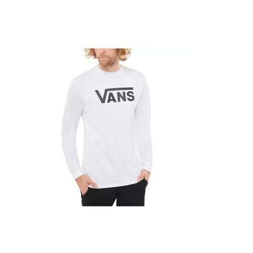 Koszulki z długim rękawem, koszulka VANS - Mn Vans Classic Ls White/Black (YB2)