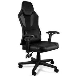 Fotel gamingowy Unique DYNAMIQ V13 czarny z regulacją - ZŁAP RABAT: KOD50