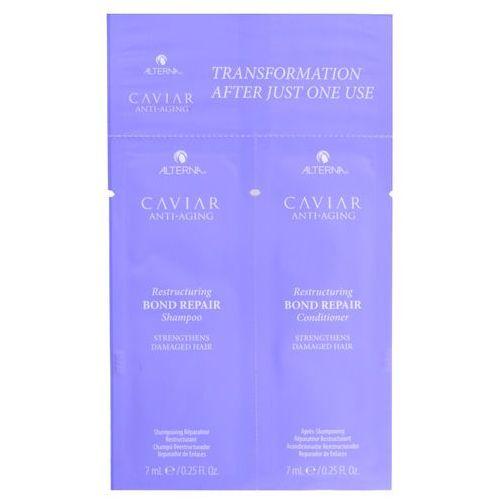 Mycie włosów, Alterna Caviar Restructuring Bond Repair   Zestaw do włosów zniszczonych: szampon 7ml + odżywka 7ml