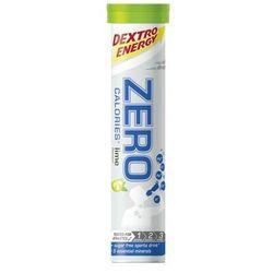 Dextro Energy Zero Calories Żywność dla sportowców O smaku limonki 20 pastylek 2019 Suplementy fitness