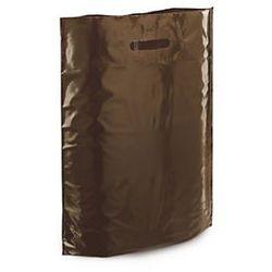 Torba foliowa 200 szt. 300x400x80 brązowa