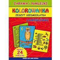 Kolorowanki, Kolorowanka Zeszyt siedmiolatka Łamigłówki - Beata Guzowska, Kamila Pawlicka