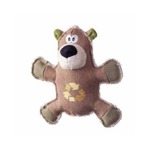 Pozostałe zabawki, Niedźwiedź jutowy z dźwiękiem 25cm
