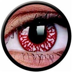 Soczewki kolorowe czerwone BLOOD SHOT Crazy Lens 2 szt.