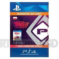 Pozostałe gry i konsole, Need for Speed Payback 1050 Punktów Speed [kod aktywacyjny]