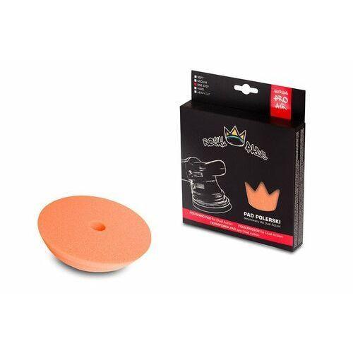 Gąbki samochodowe, Royal Pads AIR One Step Pad for DA 130mm pomarańczowy, twardy pad dla maszyn DA