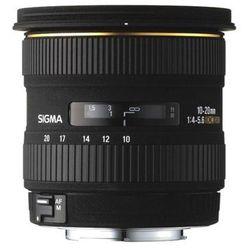 Sigma 10-20mm f/4-5,6 EX DC HSM - Canon - przyjmujemy używany sprzęt w rozliczeniu