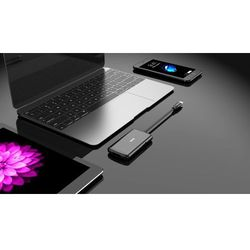 MAX hub USB MUH4301C, czarny - BEZPŁATNY ODBIÓR: WROCŁAW!