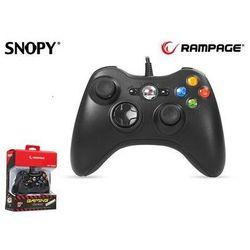 Gamepad kontroler RAMPAGE SG-R360 USB do XBOX360 Przewodowy 2,2m Black