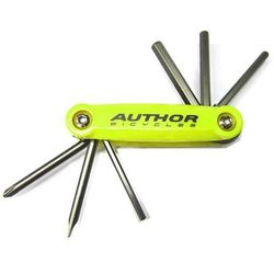 10-000038 Zestaw narzędzi/kluczy (scyzoryk) Author Toolbox 6 6 w 1