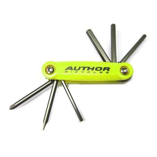 Narzędzia rowerowe i smary, 10-000038 Zestaw narzędzi/kluczy (scyzoryk) Author Toolbox 6 6 w 1