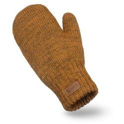 Rękawiczki damskie PaMaMi - Musztarda melanż - Musztarda melanż