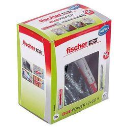 Kołek uniwersalny Fischer Duopower 12 x 60 z wkrętem 10 szt.