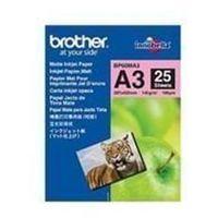 Papiery fotograficzne, Papier fotograficzny Brother | 25 arkuszy | matowy | A3