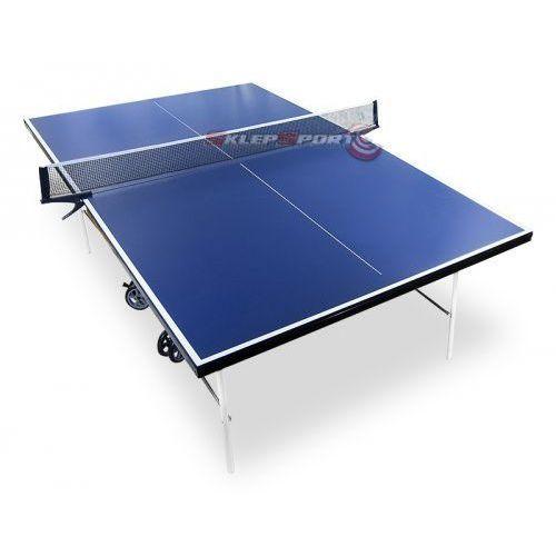 Tenis stołowy, Stół do Ping Ponga Hiton Polska S3 z Siatką Niebieski + Gratisy