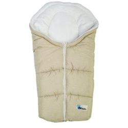 ALTABEBE Śpiworek zimowy Alpin do wózka kolor beige/whitewash
