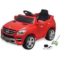 vidaXL Samochód elektryczny dla dzieci Czerwony Mercedes Benz ML350 + pilot Darmowa wysyłka i zwroty