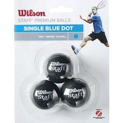 Wilson 3-Pack 1 kropka niebieska