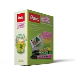Zestaw PENTEL Markery MMP20 + świecznik (pastele)