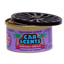 California Scents odświeżacz puszka zapachowa do auta Monterey Vanilla zapach waniliowy