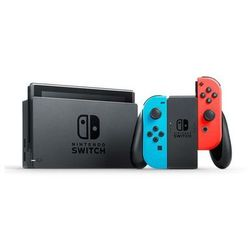 Nintendo Switch With Joy-Con - Neon Blue and Neon Red
